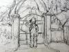 Cyrille at Garden Gate (DW-005)