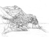 Sketch of Manerola - (DW-017)