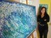 Lisa with Big wave