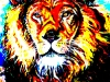 Aslan - Lion of the Tribe of Judah (abstract) (PT-003)